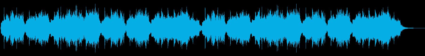 黄昏のクラリネットの再生済みの波形