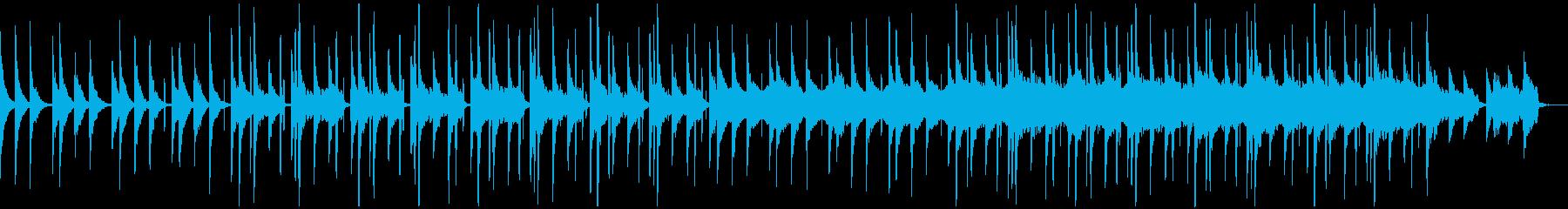 都会的 切ない シンセ BGMの再生済みの波形