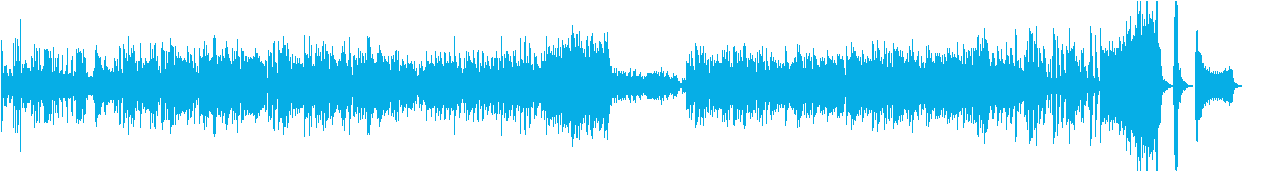 常に刻んでいるヴァイオリン学習曲/無窮動の再生済みの波形