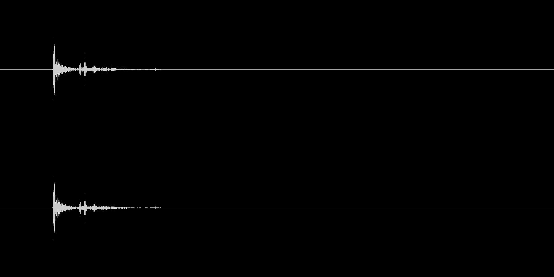 【本03-9(置く)】の未再生の波形