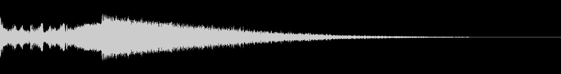 ビッグヒットエンディングの未再生の波形