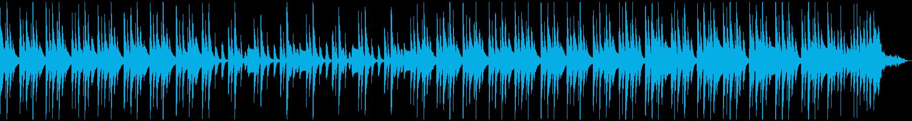 生音系・のんびりお気楽なウクレレと口笛の再生済みの波形