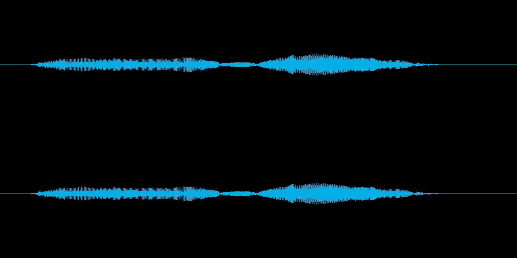 ニャー_猫声-28の再生済みの波形