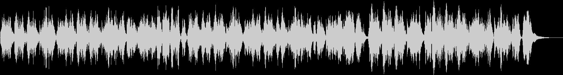 二胡が奏でる優しく暖かな曲の未再生の波形