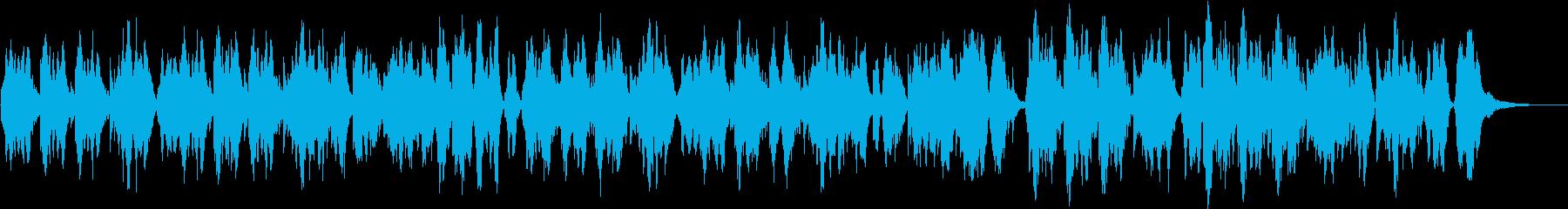 二胡が奏でる優しく暖かな曲の再生済みの波形