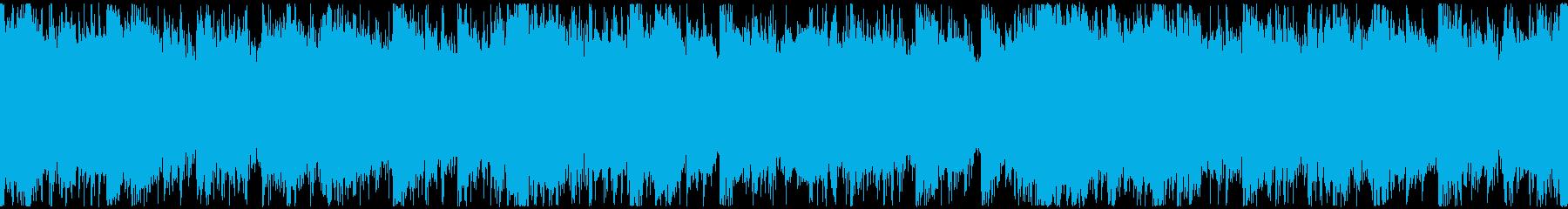 シネマティックな雄大で美しい曲 ループの再生済みの波形
