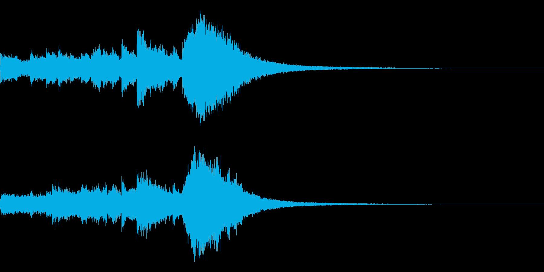 クリスマスベルのジングル, ロゴ! 02の再生済みの波形