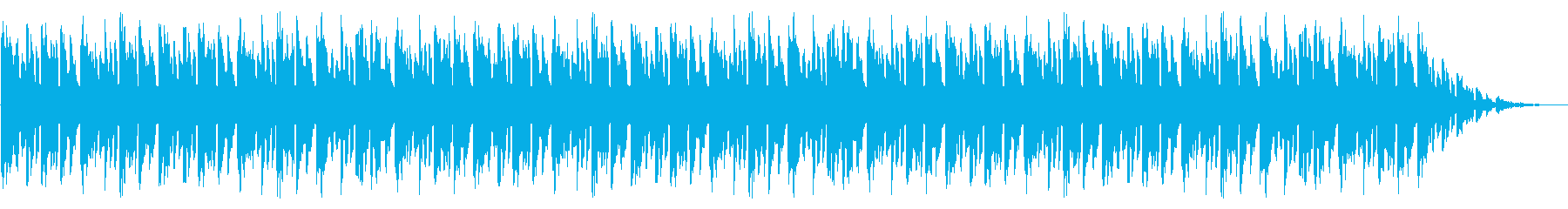 GB風レースゲームのED曲の再生済みの波形