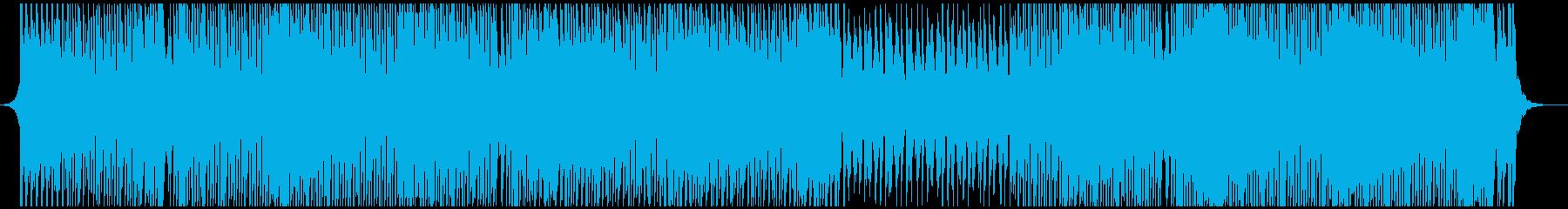 ダンスポップパーティーの再生済みの波形