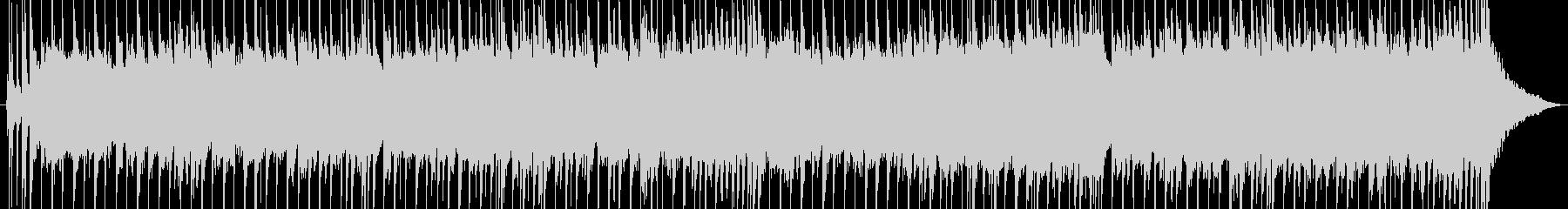 エレキギターによるバラードの未再生の波形