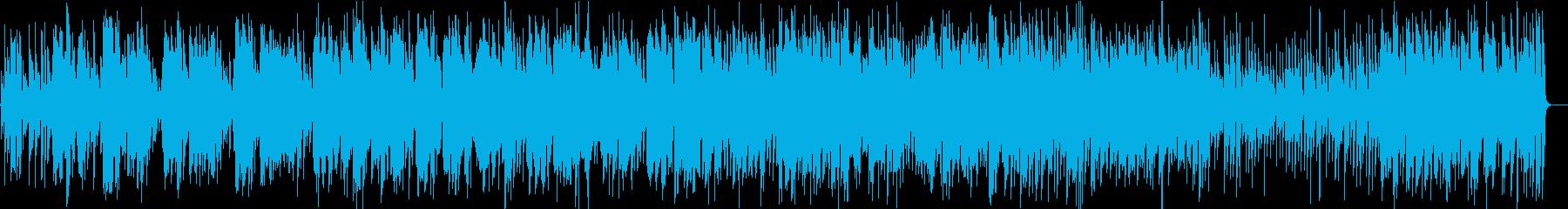 アコギが奏でるクリスマスBGMの再生済みの波形