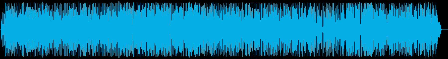 解放感のある軽快なポップスの再生済みの波形