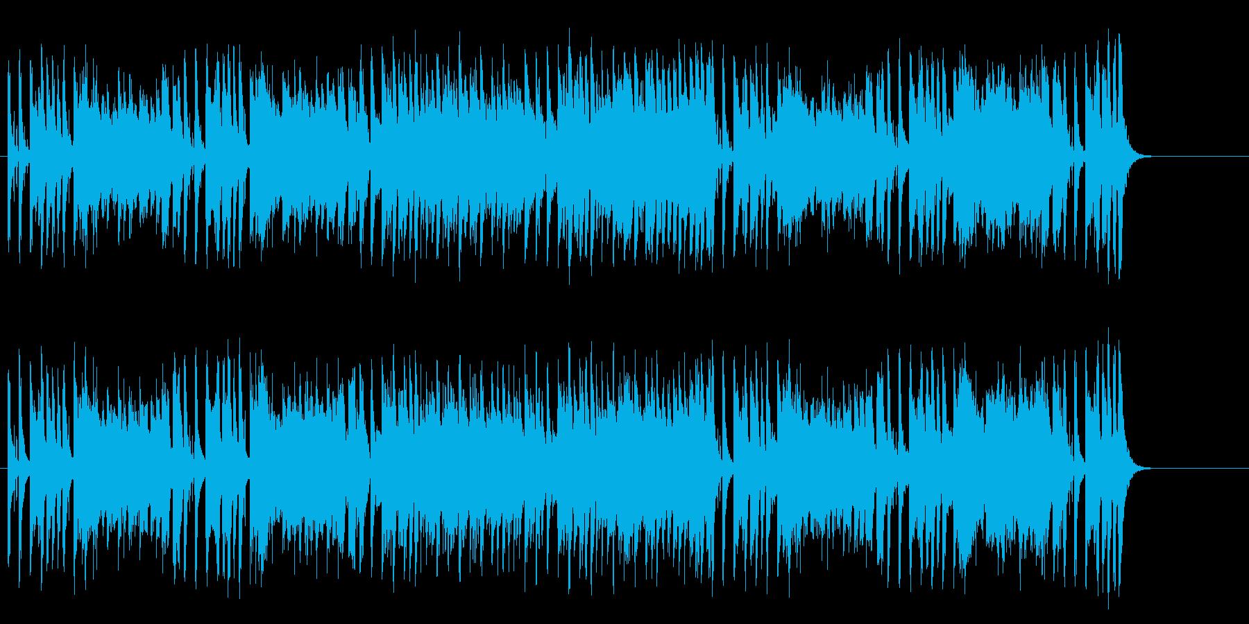 とぼけた感じがおちゃめなコミカルサウンドの再生済みの波形