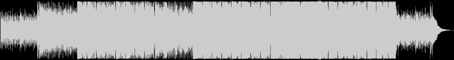 希望に満ち溢れたトランペットの未再生の波形