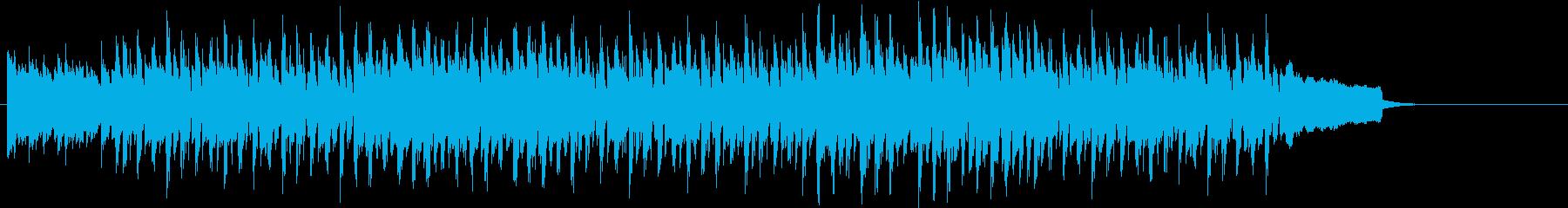 番組のテーマや導入のBGMの再生済みの波形