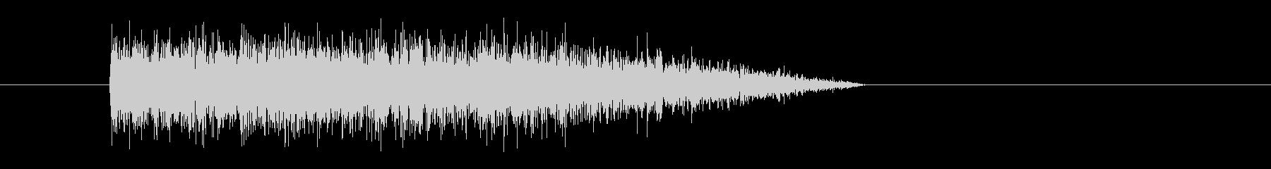 レーザー音-57-3の未再生の波形