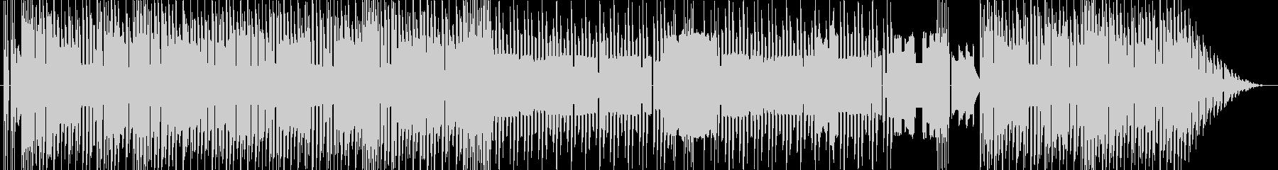 ファミコン風 オープニングBGMの未再生の波形