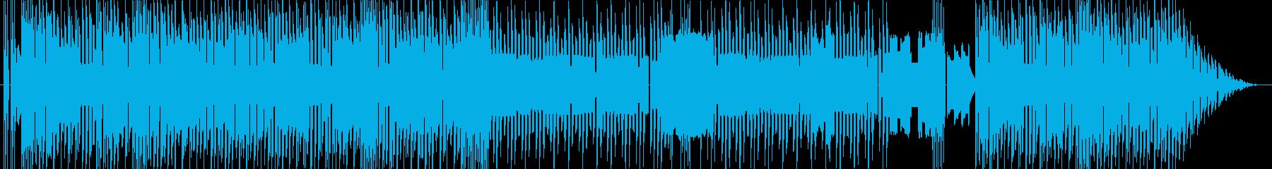 ファミコン風 オープニングBGMの再生済みの波形