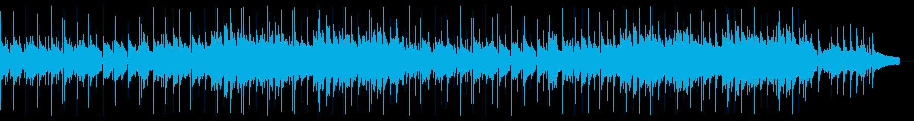 琴でゆったり透明感のある和風曲の再生済みの波形