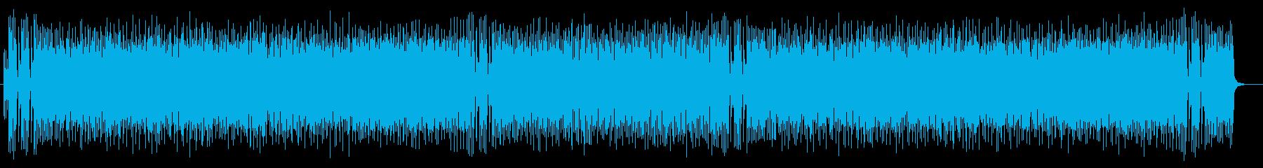 明るくはじけるようなギタードラムサウンドの再生済みの波形