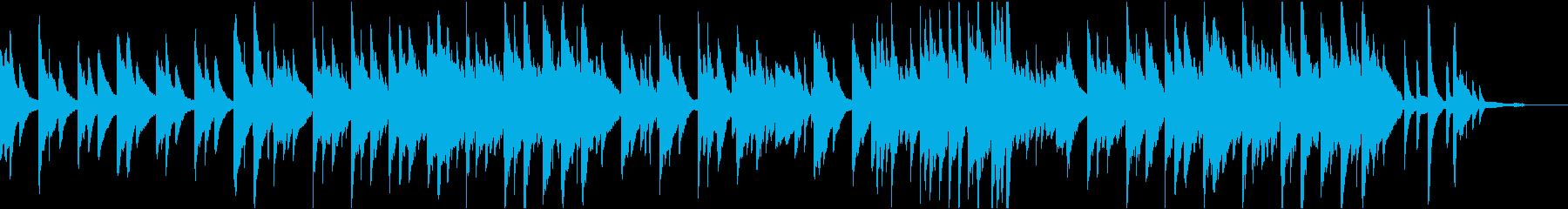 癒しのリラックスピアノの再生済みの波形