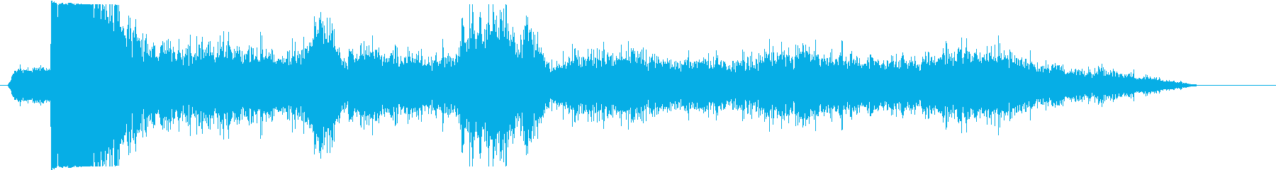 ガスラインの再生済みの波形