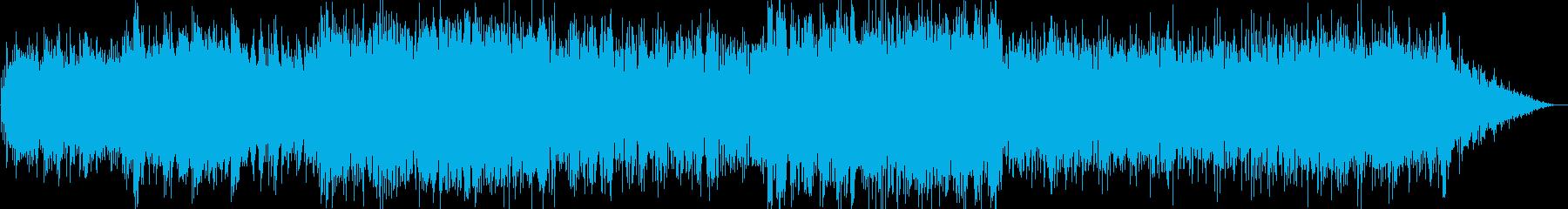 ピアノとエレピのジャズバラード楽曲の再生済みの波形