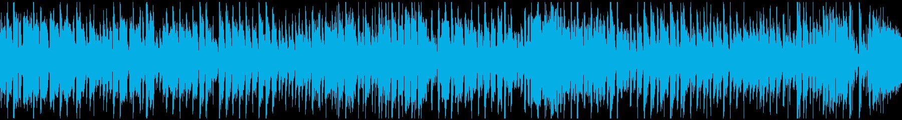 めちゃくちゃノリノリな早い曲!※ループ版の再生済みの波形