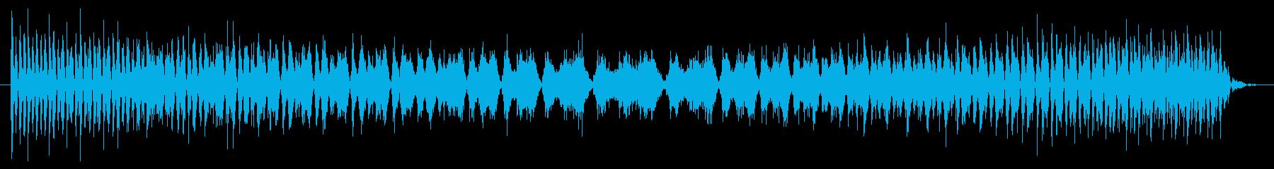 機械故障の電源シャッターの再生済みの波形