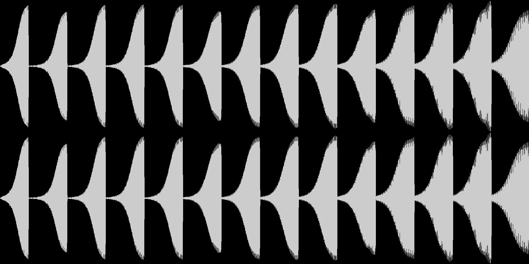 Game 懐かし昭和ゲーム台 失敗の音1の未再生の波形