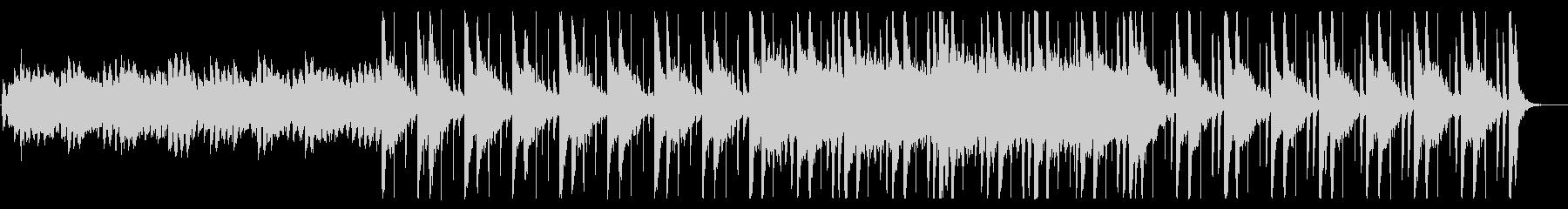 和を感じる切ないBGM_No604_2の未再生の波形