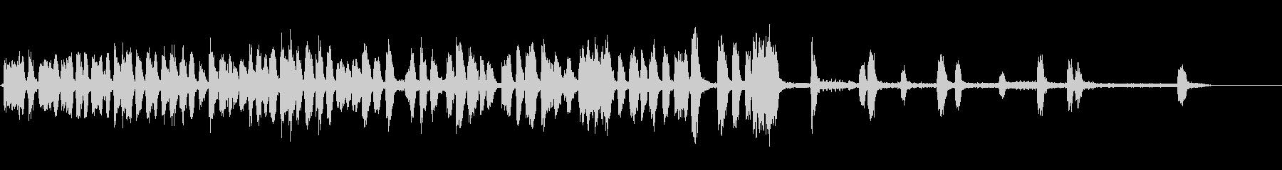 カラス1の未再生の波形
