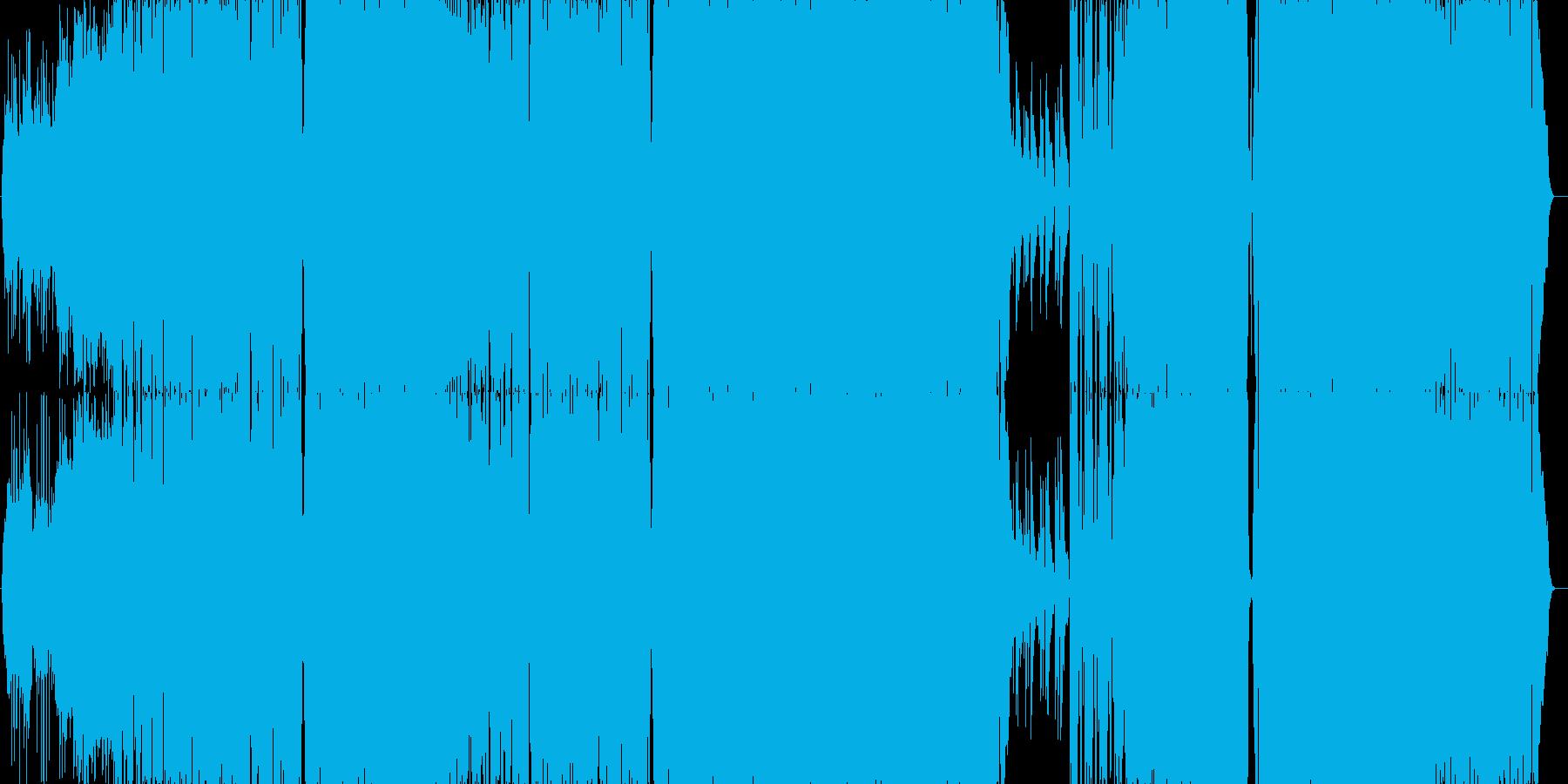 サビで最高に盛り上がるキャッチーなロックの再生済みの波形