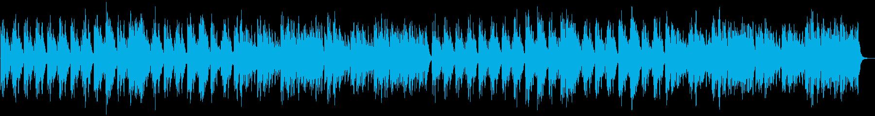 メロディ抜き版の再生済みの波形