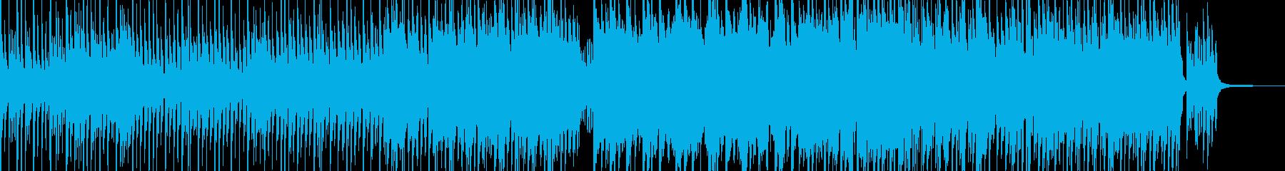 まったり・温かい雰囲気のポップス 短尺の再生済みの波形