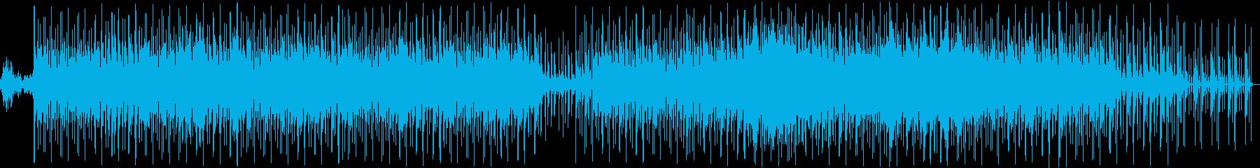 ファンタジーでおしゃれなメロディーの再生済みの波形