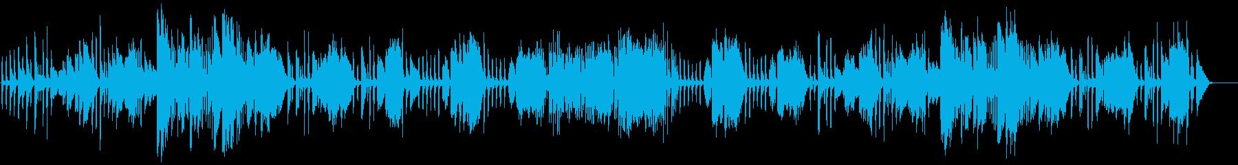 ベッカー/ガヴォットをヴァイオリンでの再生済みの波形