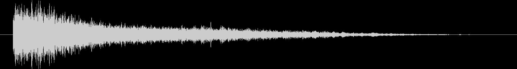 【インパクト アタックエピック】バーンの未再生の波形