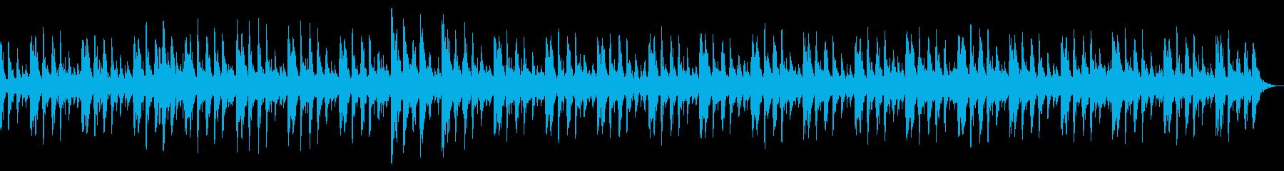 ラテン語パーカッショングルーブのパ...の再生済みの波形