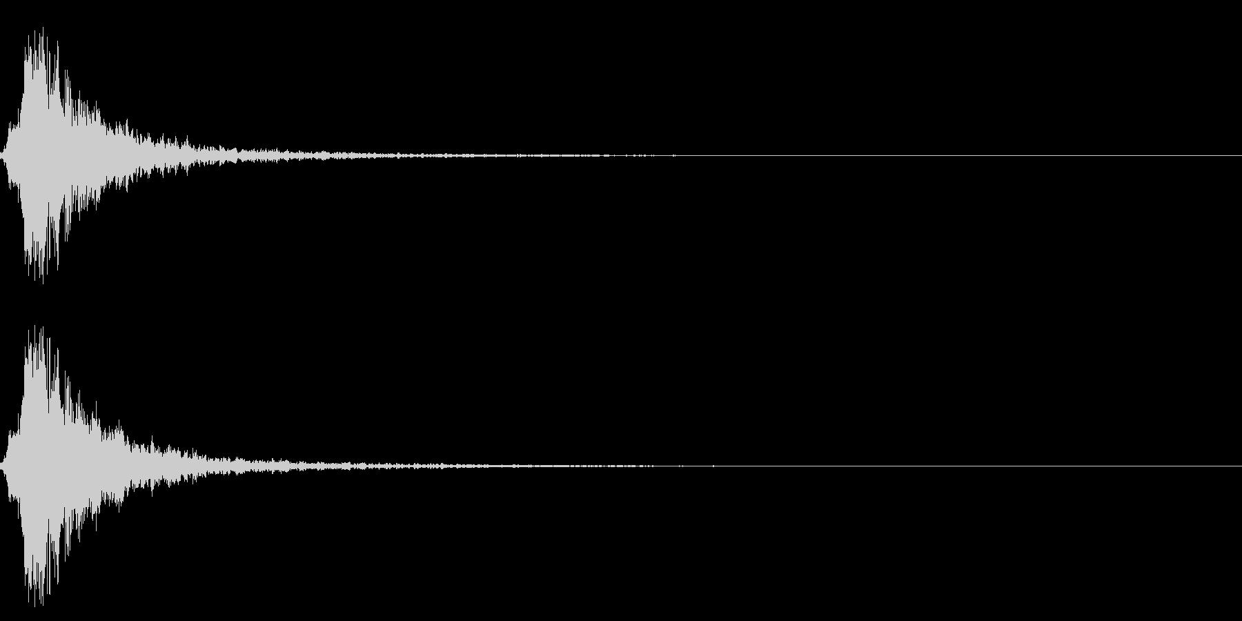 シャラン・・神楽鈴の効果音・エフェクト有の未再生の波形