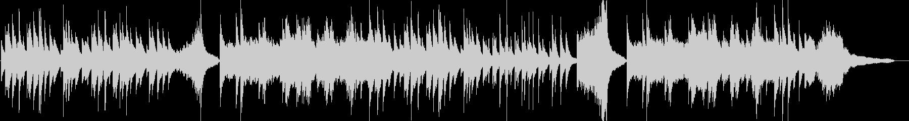 優しい ピアノソロ CM 映像 14の未再生の波形