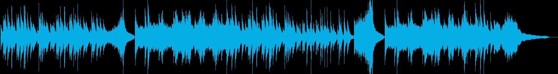 優しい ピアノソロ CM 映像 14の再生済みの波形