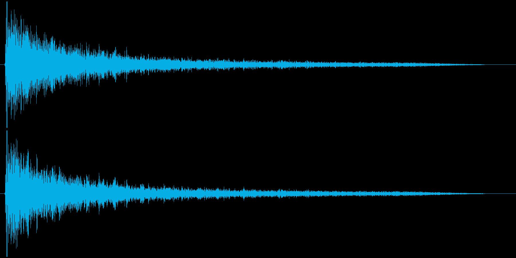 【ゲーム】ヒット_11 ボワーンッッ・・の再生済みの波形