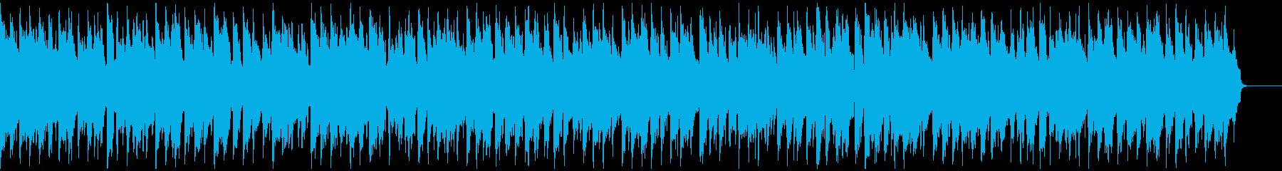 表彰式にヘンデルのアレンジ口笛 リズム抜の再生済みの波形