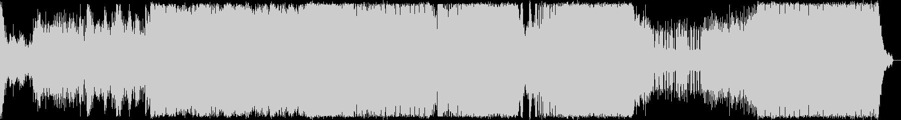 プログレッシブハウス。オーケストラ。の未再生の波形