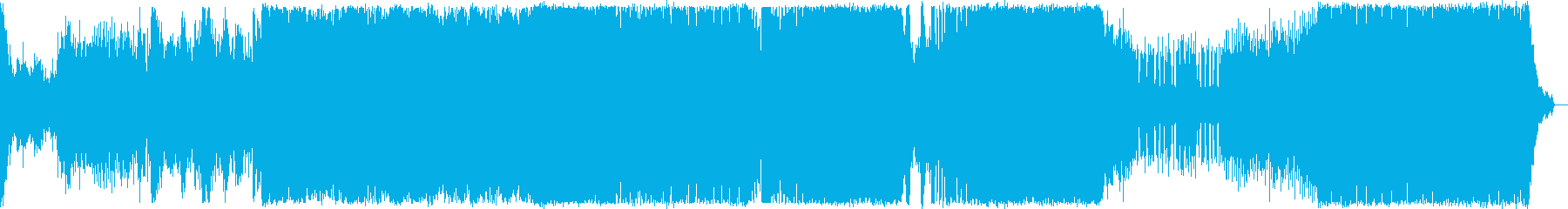 プログレッシブハウス。オーケストラ。の再生済みの波形