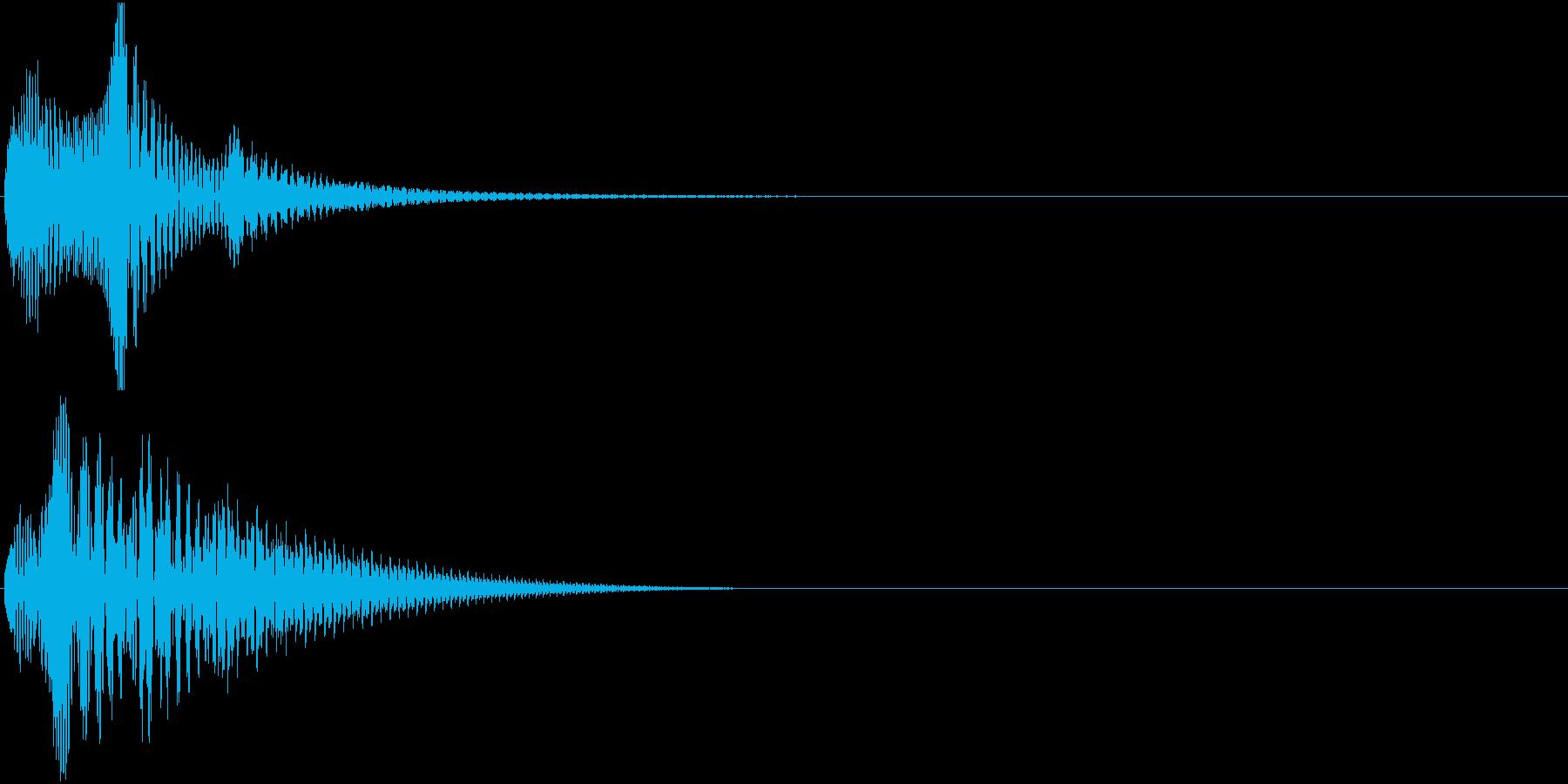 Baby 幼児玩具向け可愛い電子音9の再生済みの波形