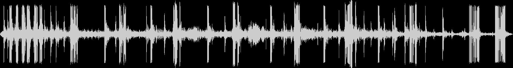 ストレッチクランキーキーキーの未再生の波形