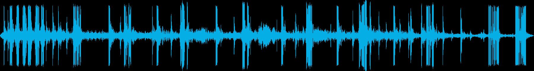 ストレッチクランキーキーキーの再生済みの波形
