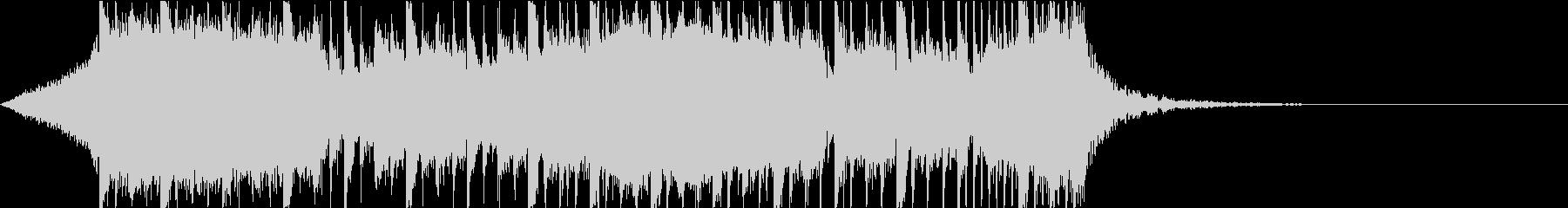 ダブステップ メロディアス ジングルの未再生の波形